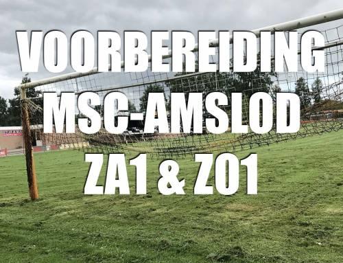 Info oefenprogramma MSC-Amslod Za1 en Zo1