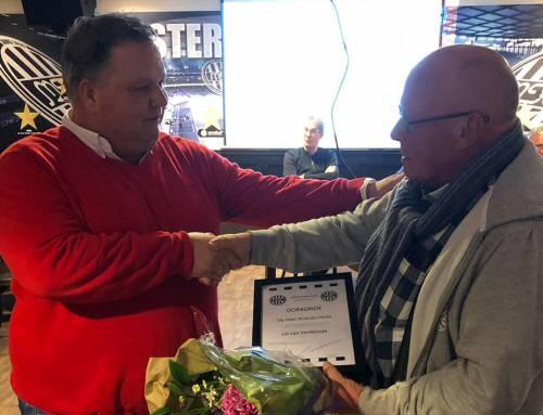 Andries Heite en John Spraakman beiden 'Lid van Verdienste'
