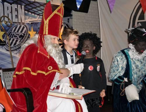 Sinterklaas op bezoek bij MSC