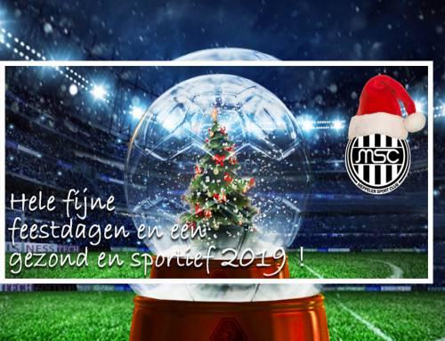 Fijne feestdagen en een gezond en sportief 2019 !