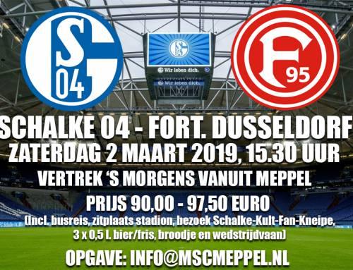 Ga mee naar Schalke 04 – Fortuna Dusseldorf
