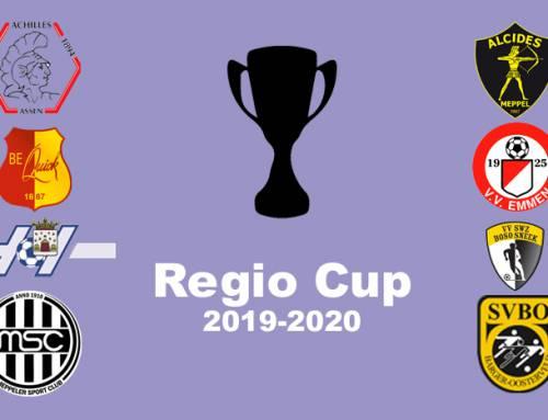Regio-Cup wedstrijd Be Quick 1887 RC 1 – MSC-Amslod RC 1