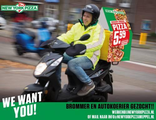 New York Pizza zoekt koeriers!