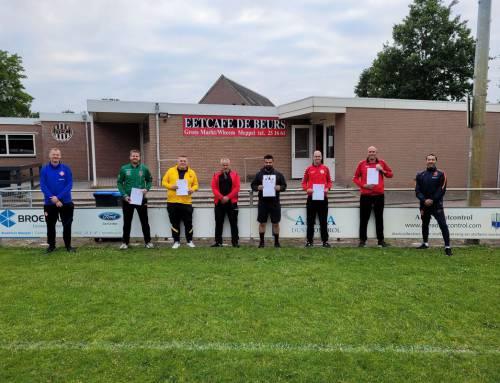 MSC heeft er 5 gediplomeerde jeugdtrainers bij
