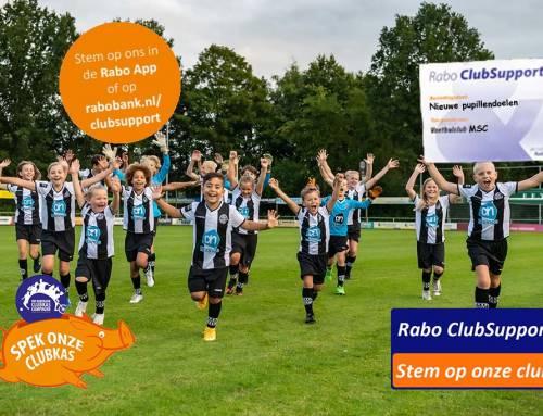 MSC doet mee met Rabo ClubSupport!