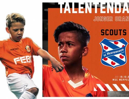 Geef je op voor de Jonger Oranje Talentendag bij MSC